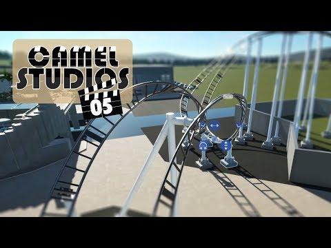 🐪 Camel Studios 🎬 | Planet Coaster Studios Pack | Episode 5 : Duelling Coaster Layout