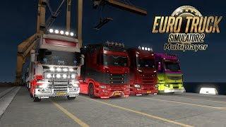 Recht zo die gaat! Euro Truck Simulator 2 MP {G29}
