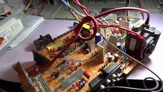 №224. Диагностика телевизора LG RT-21FA32X. Курсы телемастеров.