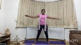 11-11-2020 - Hatha Yoga With Bhavnaben Jogi