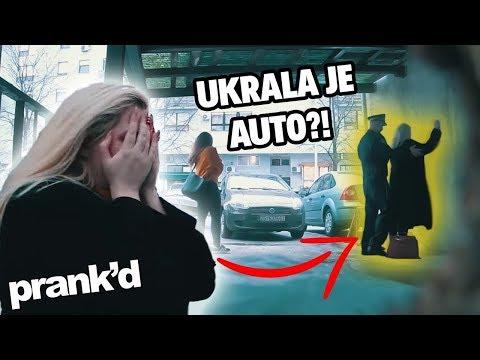 BIBI ANDY PRIVELA POLICIJA! (Ukrala je auto?!) | Prank'd | Epizoda 6 Sezona 1