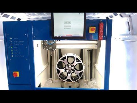 DC-1 Mobile Diamond Cut Wheel Lathe | Alloy Wheel Repair & Refurbishment Machine.