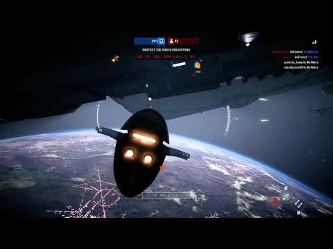Star Wars  Battlefront II - 1st Star Fighter Assault Game with Flowingbass |