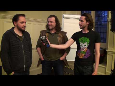 Jason Kingsley OBE & Matt Smith from '2000 AD' Interview -  Oxford Comic Con 2016