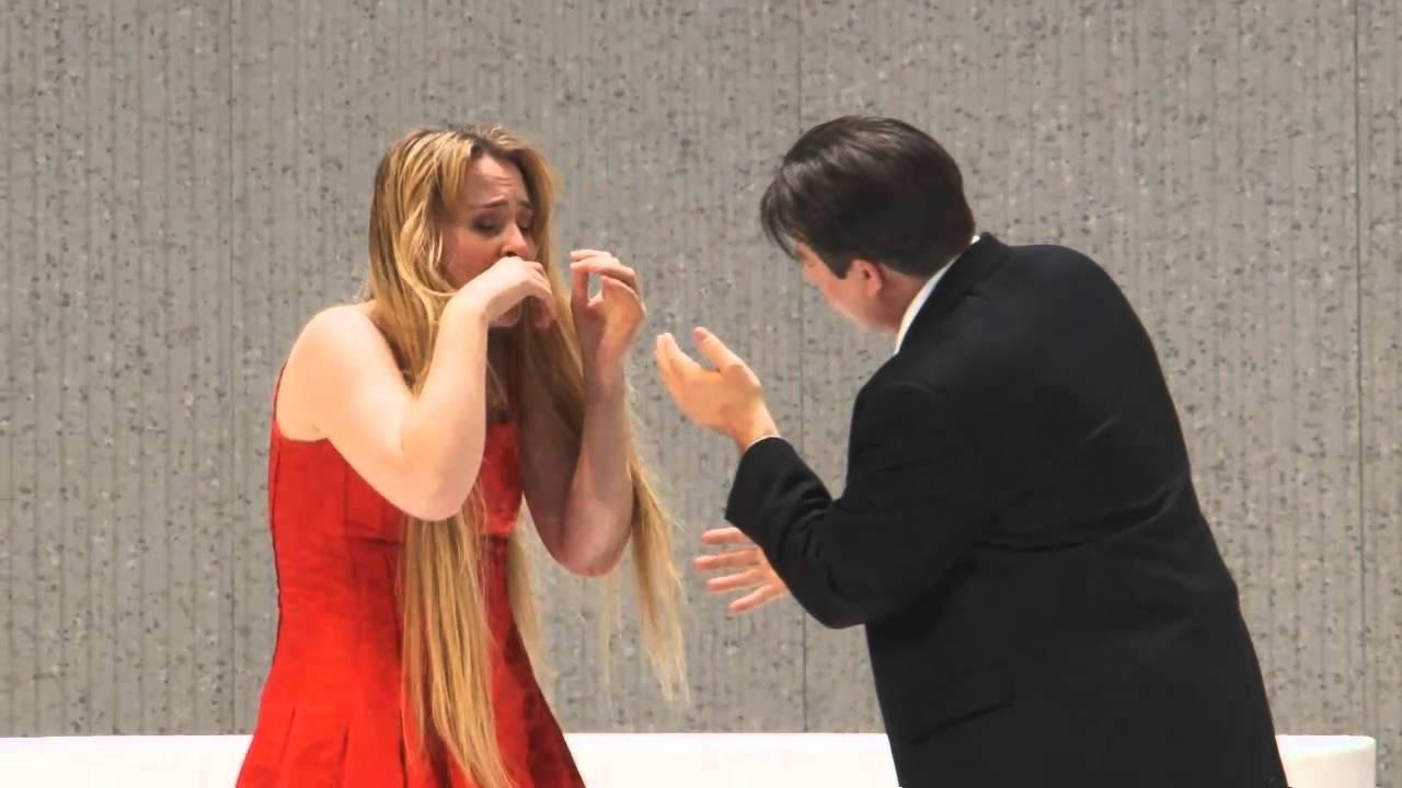 La Traviata: Act II excerpt -- Marina Poplavskaya & Matthew Polenzani (Met Opera)
