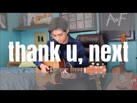 thank you, next - Ariana Grande **BUT** it's played only on a guitar