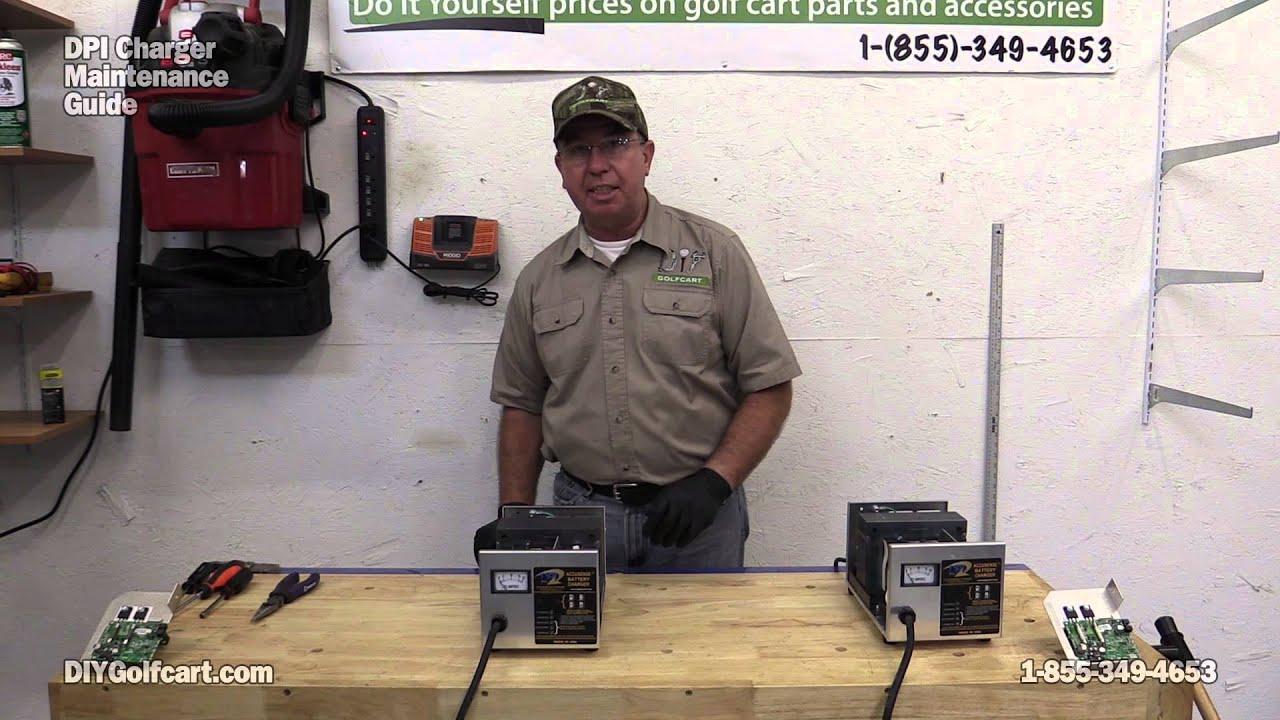 Golf Cart Wiring Diagram Ez Go Dpi Battery Charger 36 And 48 Volt Golf Cart Charger