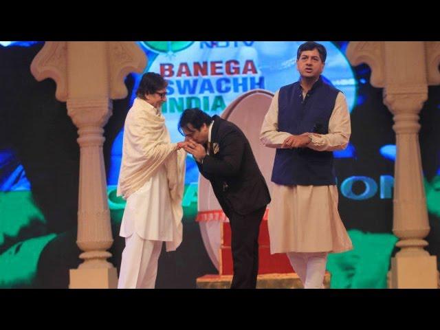 Govinda Supports Amitabh For Ndtv Mission Swachh Bharat Abhiyaan