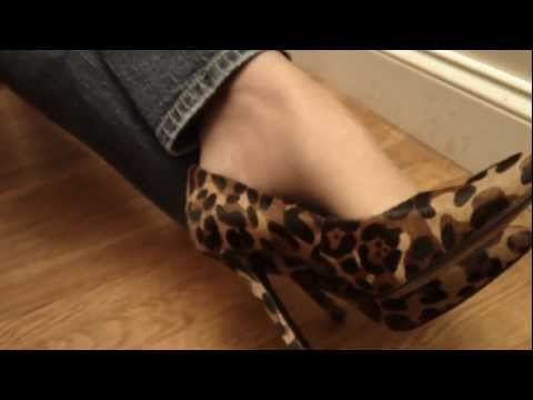 The most beautiful miss nylon mature feet in high heels from YouTube · Duration:  4 minutes 10 seconds