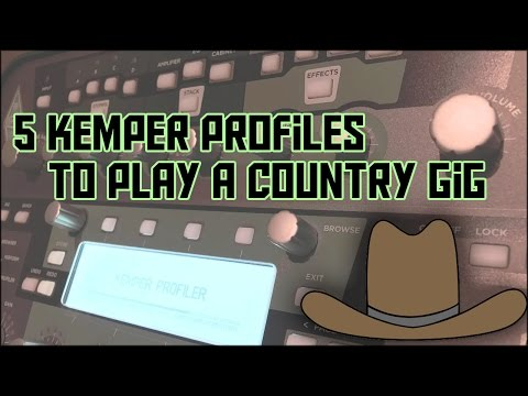 5 Kemper Profiles To Play A Country Gig!