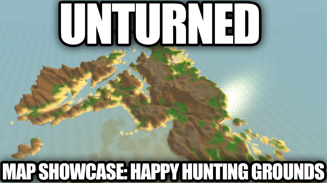 Unturned map showcase happy hunting grounds youtube gumiabroncs Images
