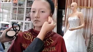 Download Video Tutorial Makeup Hijab pakai jilbab Organza by Success WO MP3 3GP MP4