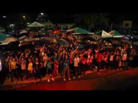 Ebe Dancel - Colgate's Fresh U Cagayan De Oro College (Payong + 1 Tent Wave)