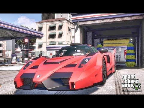 GTA 5 REAL LIFE MOD #493 ENZO!!! (GTA 5 REAL LIFE MODS)