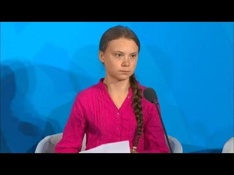 Greta Thunberg (Young Climate Activist) at the Climate Action Summit 2019 - Official Video
