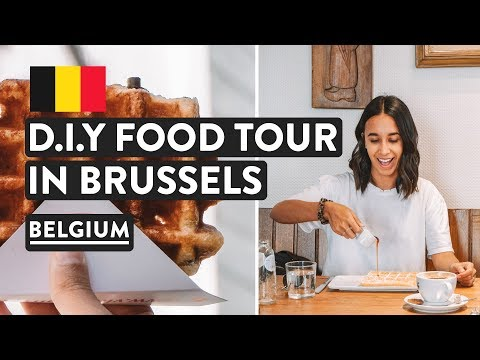 Is Belgian Food Good? YES! 😍 Brussels DIY Food Tour In Belgium