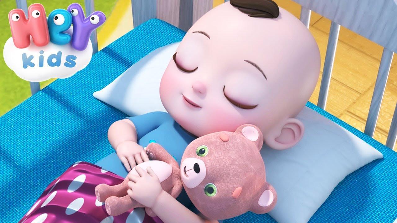 Rock-a-bye Baby lullaby 💤 Bedtimes songs and nursery rhymes - HeyKids