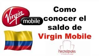Conocer Saldo Virginmobile Colombia y tu número de telefono