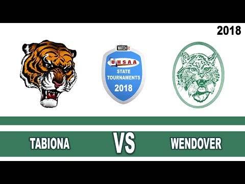 1A Boys Basketball: Tabiona vs Wendover High School UHSAA 2018 State Tournament Round 1