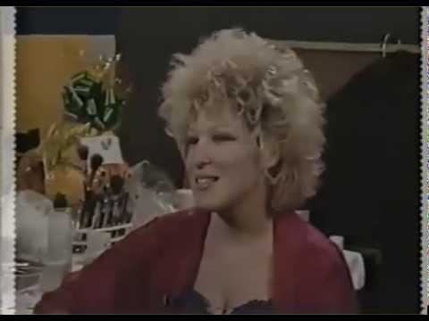 1984   Making Of Beast Of Burden   Bette Midler and Mick Jagger