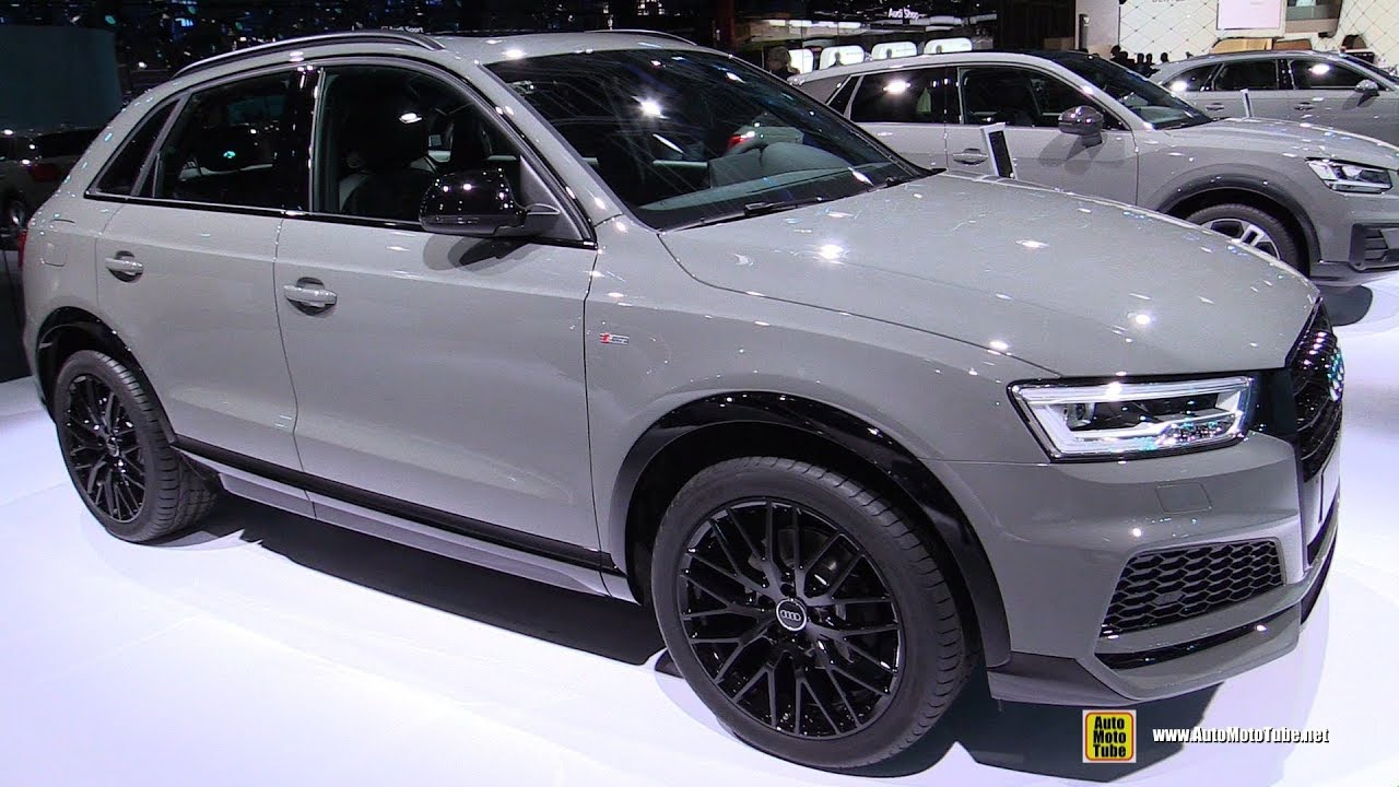 2018 audi q3 tdi quattro exterior and interior walkaround 2017 frankfurt auto show youtube. Black Bedroom Furniture Sets. Home Design Ideas