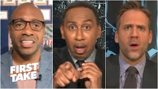 Stephen A. walks off after Jay Williams' & Max's BLASPHEMOUS NBA takes | First Take