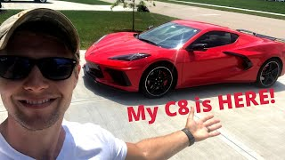 Taking Delivery of Mỳ 2020 C8 CORVETTE!! *First Impressions*
