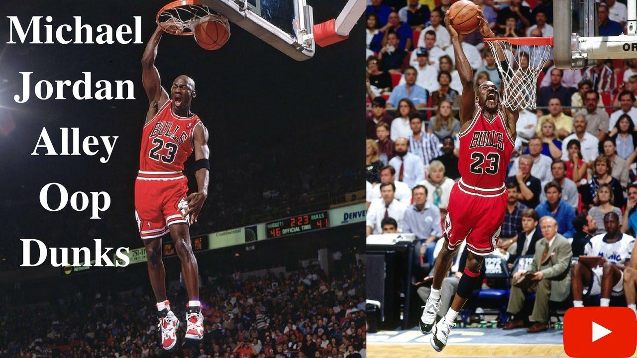 san francisco good selling incredible prices Michael Jordan Alley Oop Dunk Highlights
