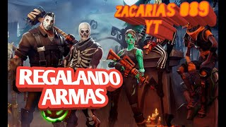 Fortnite/SAVE THE WORLD REGALING WEAPONS/Zacarias089 YT