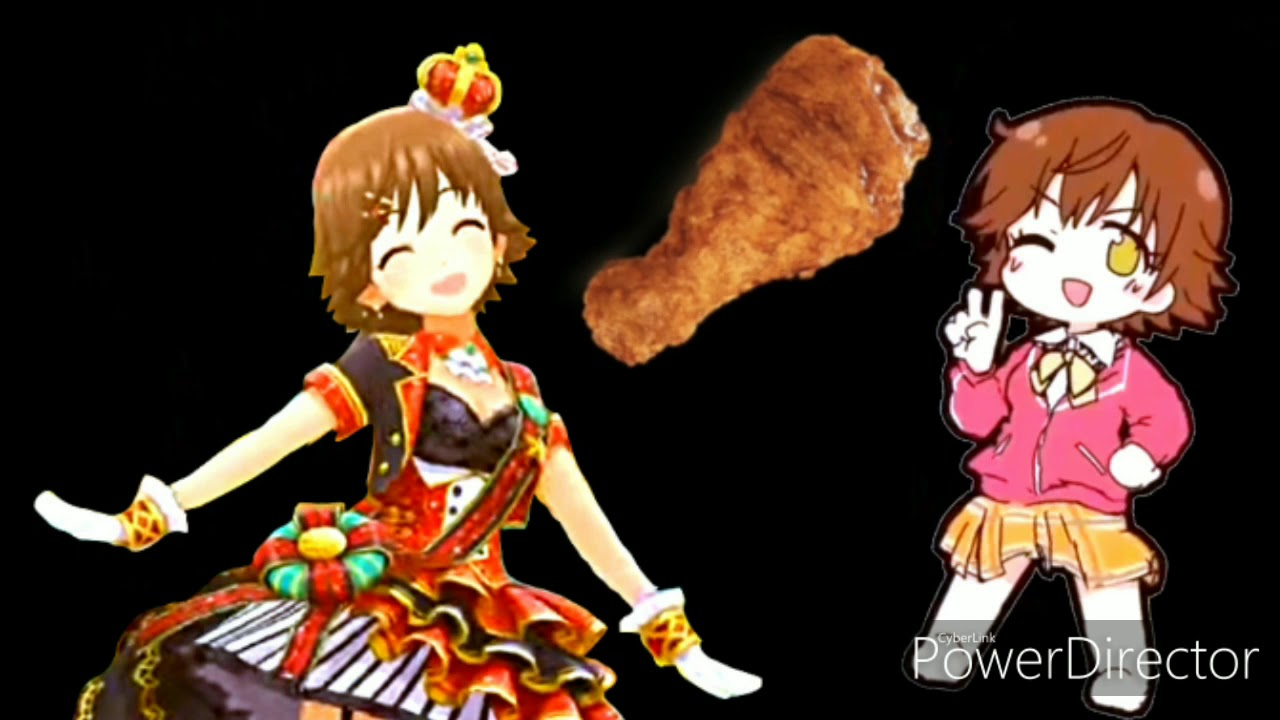 Two Mios Politely Sharing A Piece Of Fried Chicken Asmr Audio