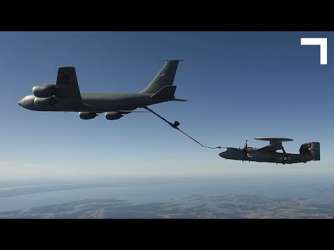 FLOW - The E-2D Advanced Hawkeye Enhancement: Refuel in Air