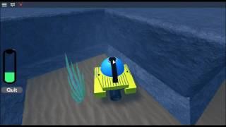 ROBLOX Pokemon Brick Bronze - Underwater Mining Vessel