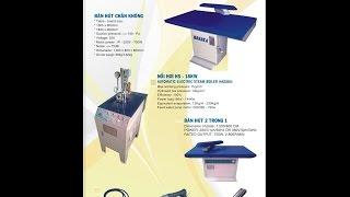 Nồi hơi - bàn hút - Hệ thống ủi hơi HASAKA - Steam Boiler - Ironing Tables