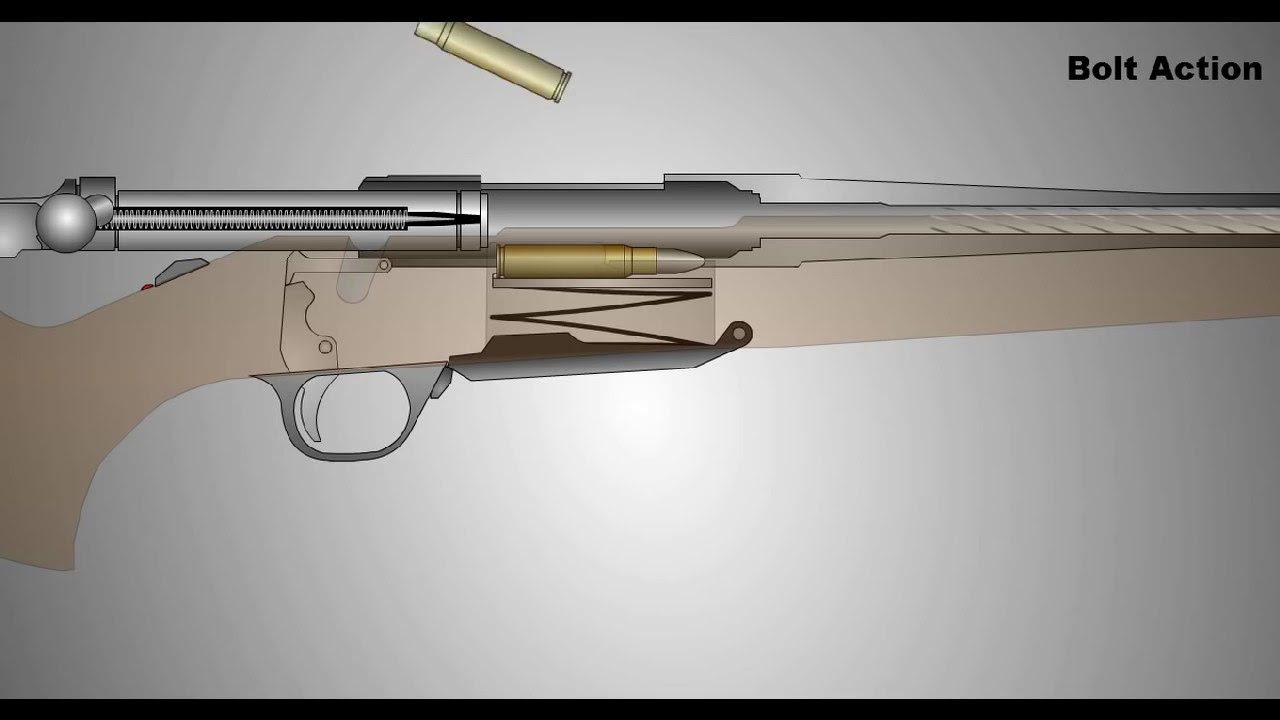 Bolt Action Rifle | Animation