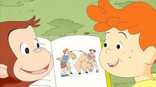 Curious George 🐵Curious George, Hog trainer 🐵Kids Cartoon 🐵 Kids Movies 🐵Videos for Kids