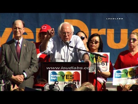 Yes on Proposition 61 Rally / Downtown LA  RAW FOOTAGE