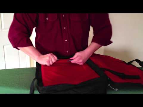 """""""Red Oxx Air Boss"""" One Bag Travel"""