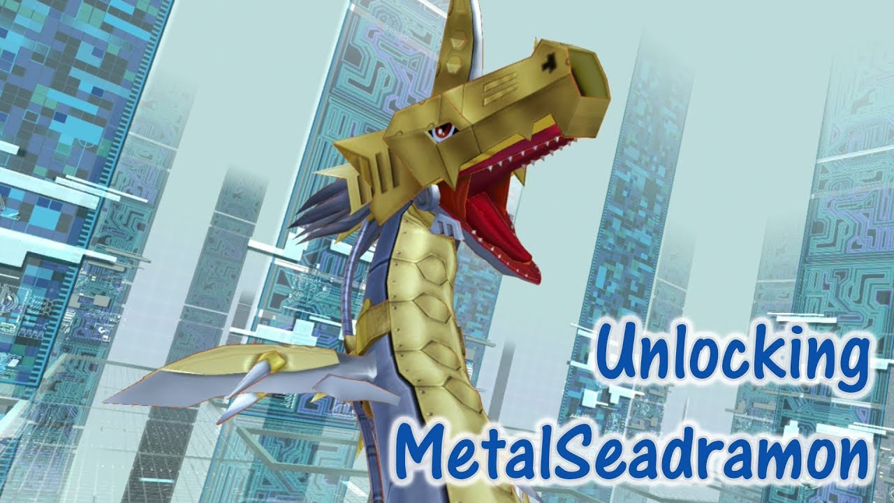 Unlocking MetalSeadramon | Dark Master of Oceans | Digimon ...