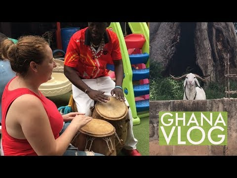 Learning to Play the Drums | Ghana Vlog #31