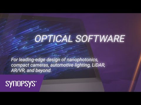 Synopsys Optical and Photonic Solutions Software | Synopsys