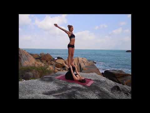 Acro Yoga Flow Erica Piemontesi & Claudia Zimmermann