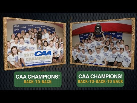 2017 Tribe Swimming - CAA Double Champions!