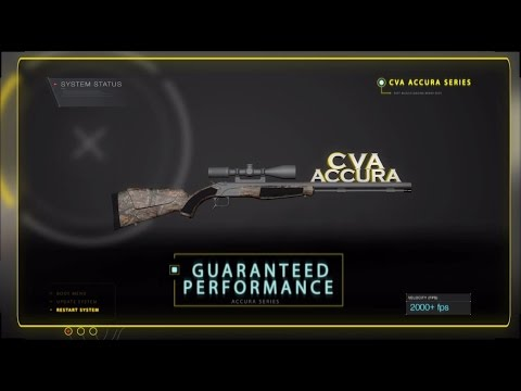 CVA Accura Muzzleloader Rifle Series - 2016 Commercial