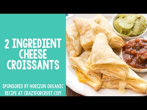 2 ingredient cheese croissants rectangle HD 720p