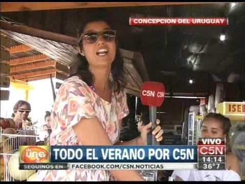 C5N - VERANO 2014: C5N EN CONCEPCION DEL URUGUAY (PARTE 1)