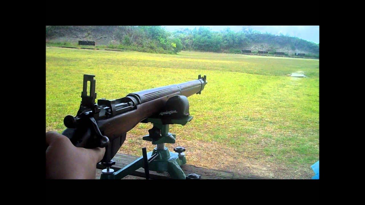 Shooting my Lee Enfield No 4 Mk1