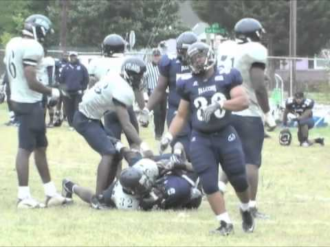 Saint Augustine College Football Blue and White game 2011