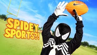 Spider-Man Powers! Super Hero Sports Gear Test for Kids by KIDCITY