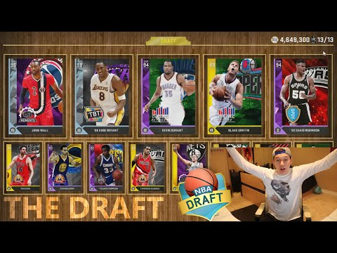 DRAFTING THE BEST TEAM POSSIBLE! NBA 2K16 DRAFT