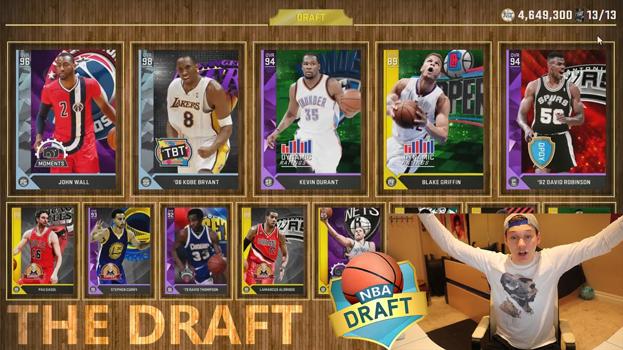 DRAFTING THE BEST TEAM POSSIBLE! NBA 2K16 DRAFT - YouTube